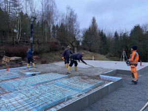 Betoneinbau_Bodenplatte